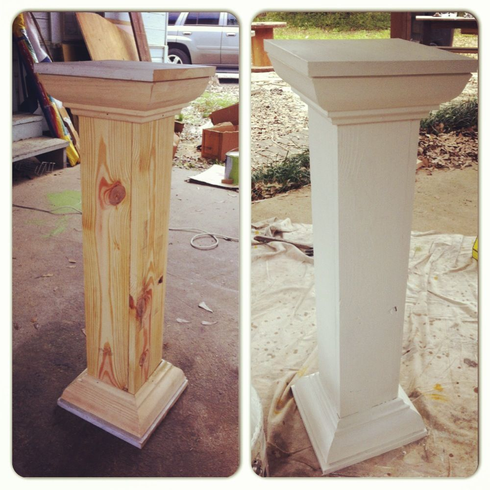 Built These Wedding Columnswhen You Cant Find Just Want You Want