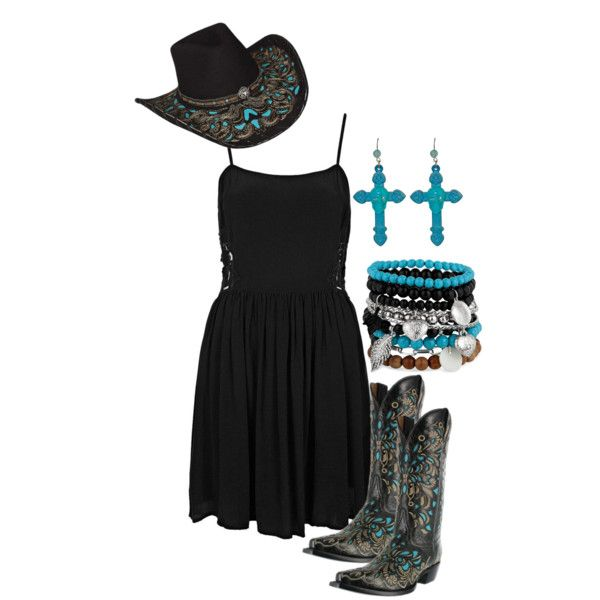 Blue And Black Country Dress Country Dresses Country Style Outfits Country Outfits