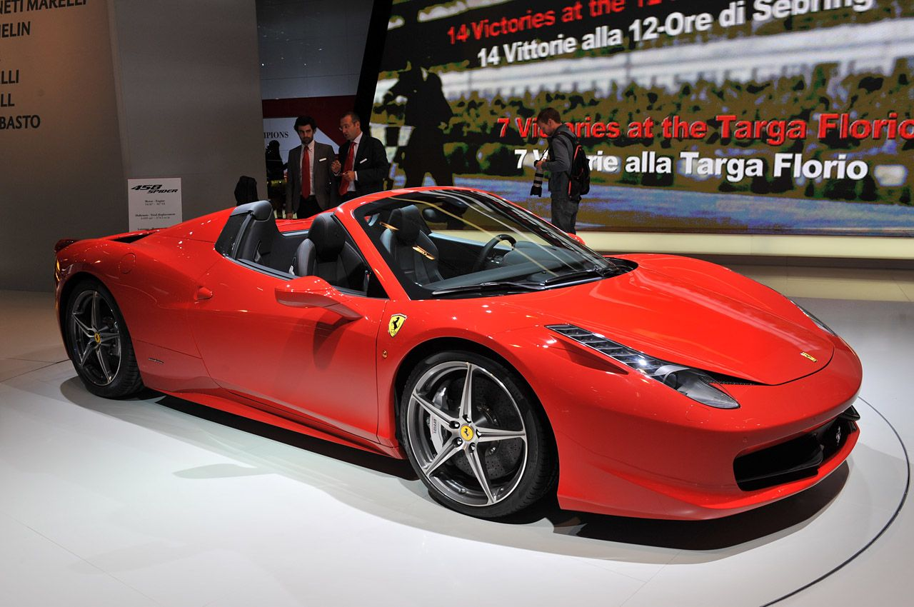 Ferrari Announces Price Of The 458 Italia Spider With Images