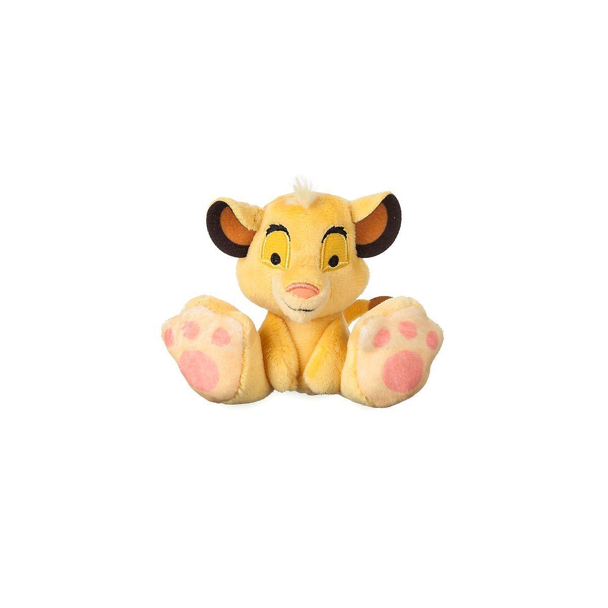 Disney Store Simba Tiny Big Feet Mini Soft Toy Disney Plush