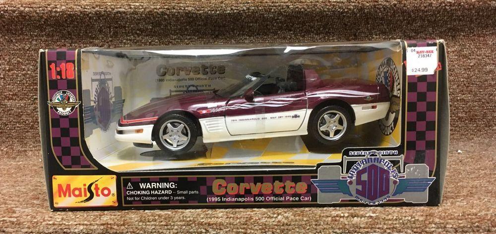 MAISTO 1995 Chevrolet Corvette Indianapolis 500 Pace Car Promotional Model car