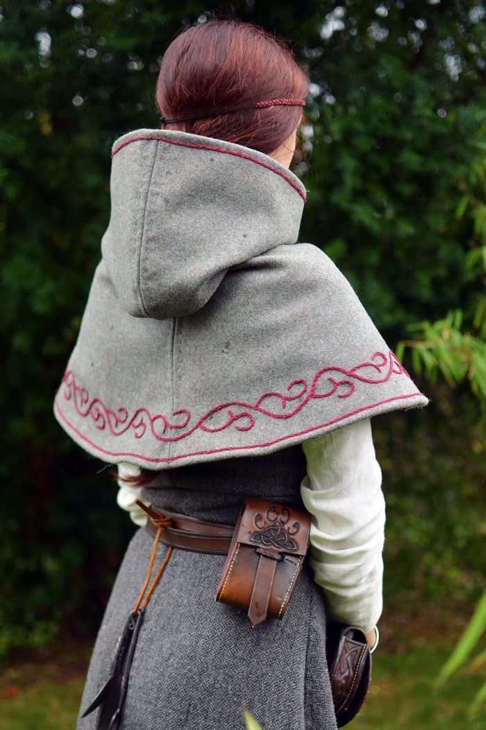 Photo of Medieval Cowl Pattern #history Medieval Cowl Pattern #history #fashion #fantasy …