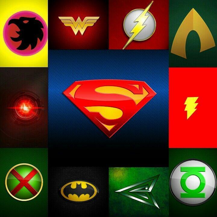Justice League Emblems Justice League Emblems...