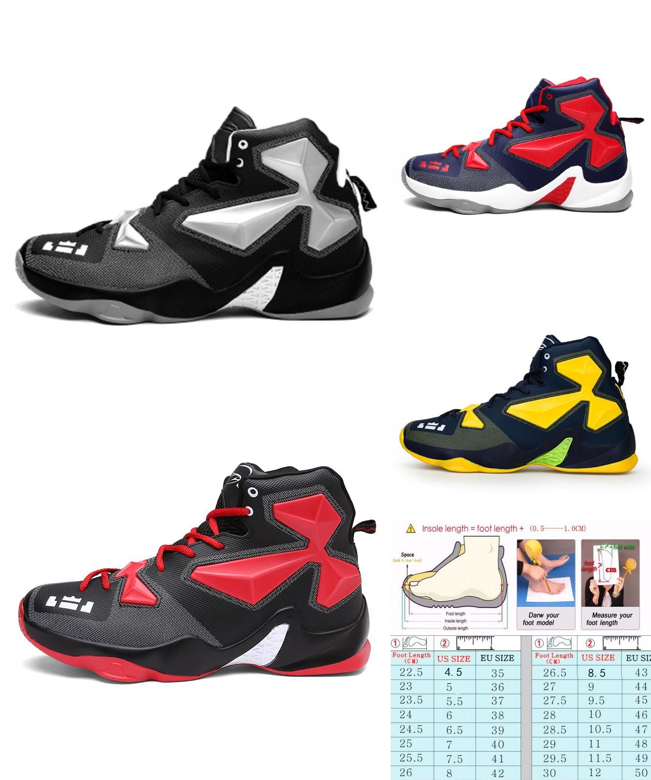 8746eac7f1f3  Visit to Buy  Mens And Boys Basketball Shoes Lebron James Shoes Plus Size  36-45 Lace up Sneakers Trainers Zapatos De Baloncesto Chaussures   Advertisement