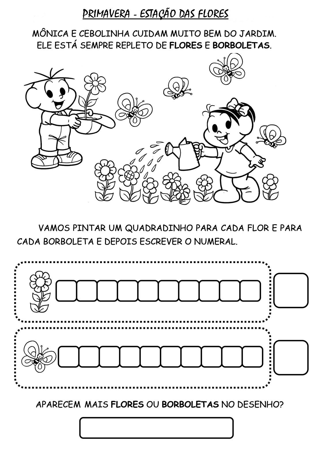 Fabuloso atividades jardim 2 para imprimir - Pesquisa Google | Escola  SH22