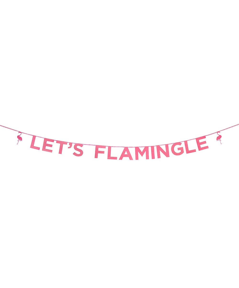 Pink 'Let's Flamingle' Banner   Products   Pinterest   Banners and ...
