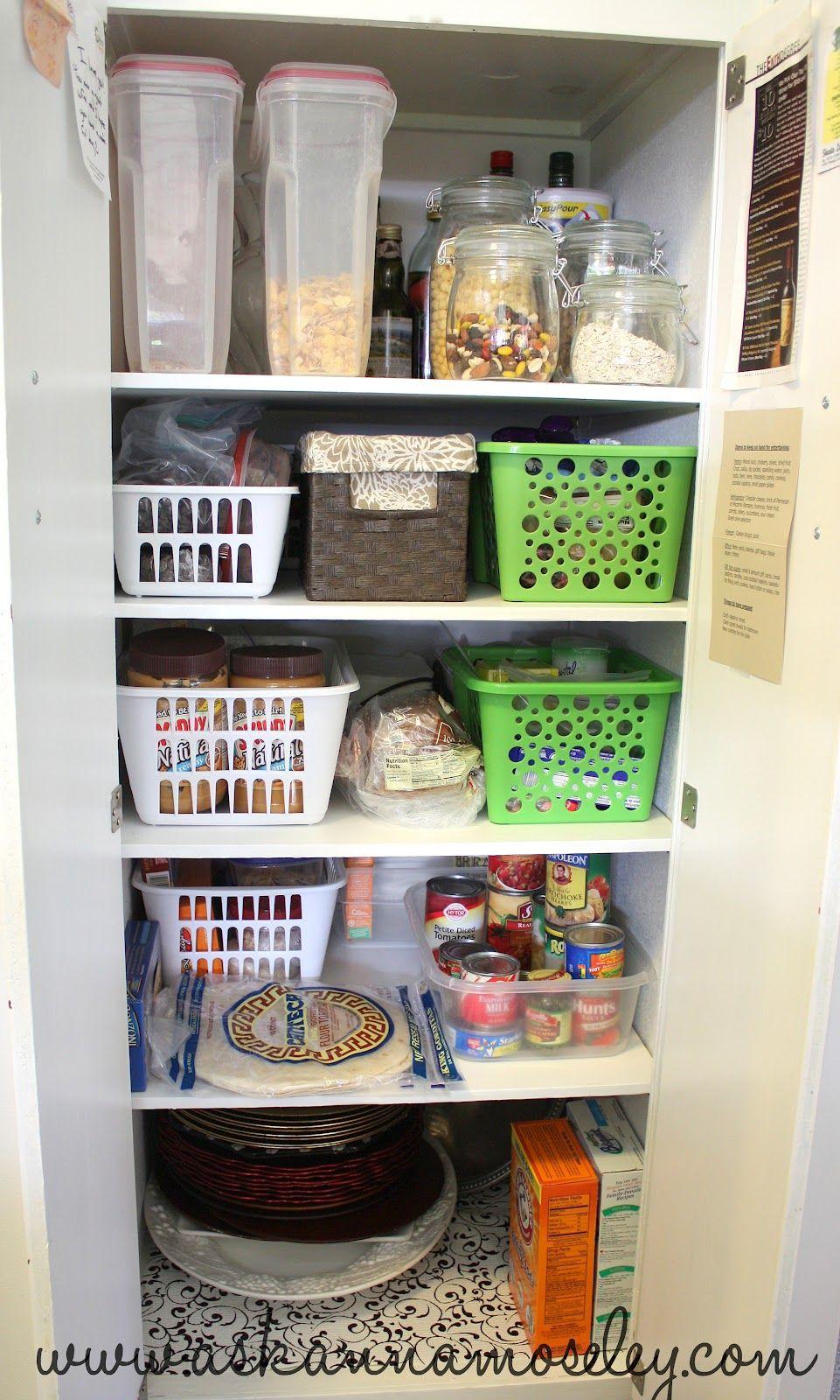 Spring Into Organization Kitchen Organization Tips Ask Anna Kitchen Organization Pantry Deep Pantry Organization Deep Pantry