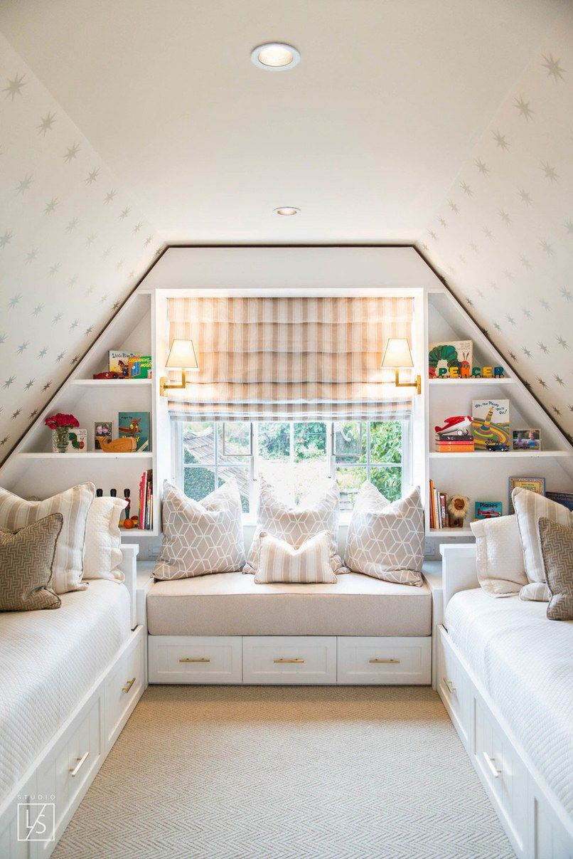 Captivating Can You Count How Many Beds This Small Space Guest Bedroom Fits? Gallery