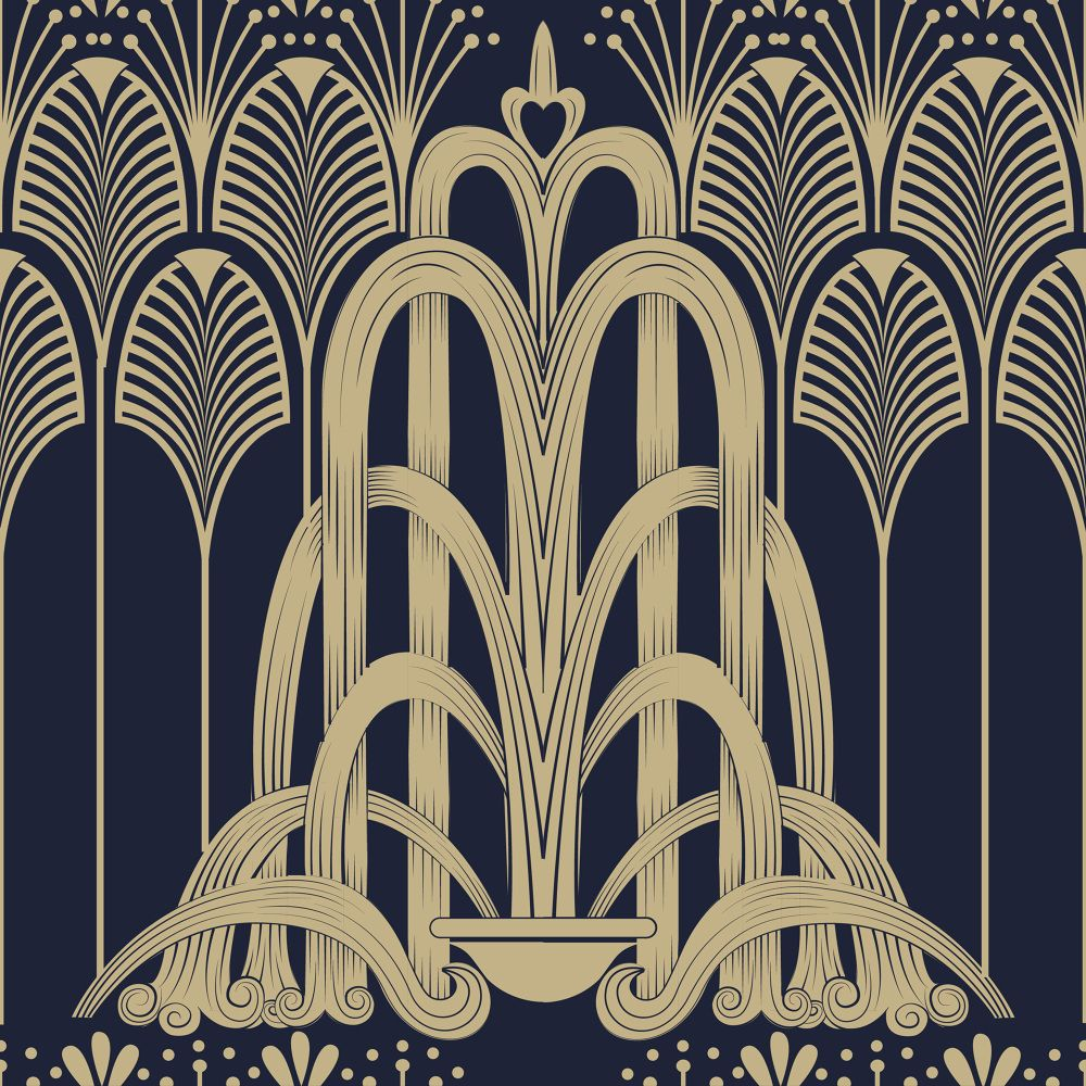 Art deco patterns laura beckman www for Design art deco