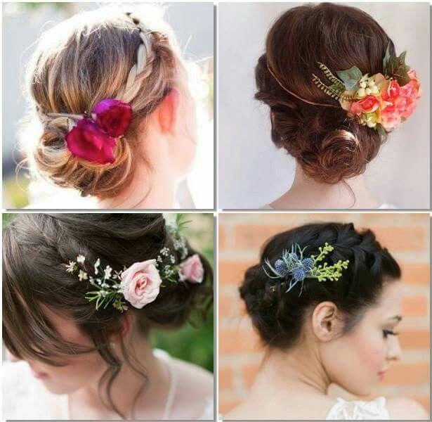 Flores Peinados Y Tocados Pinterest Wedding Hairstyles Hair