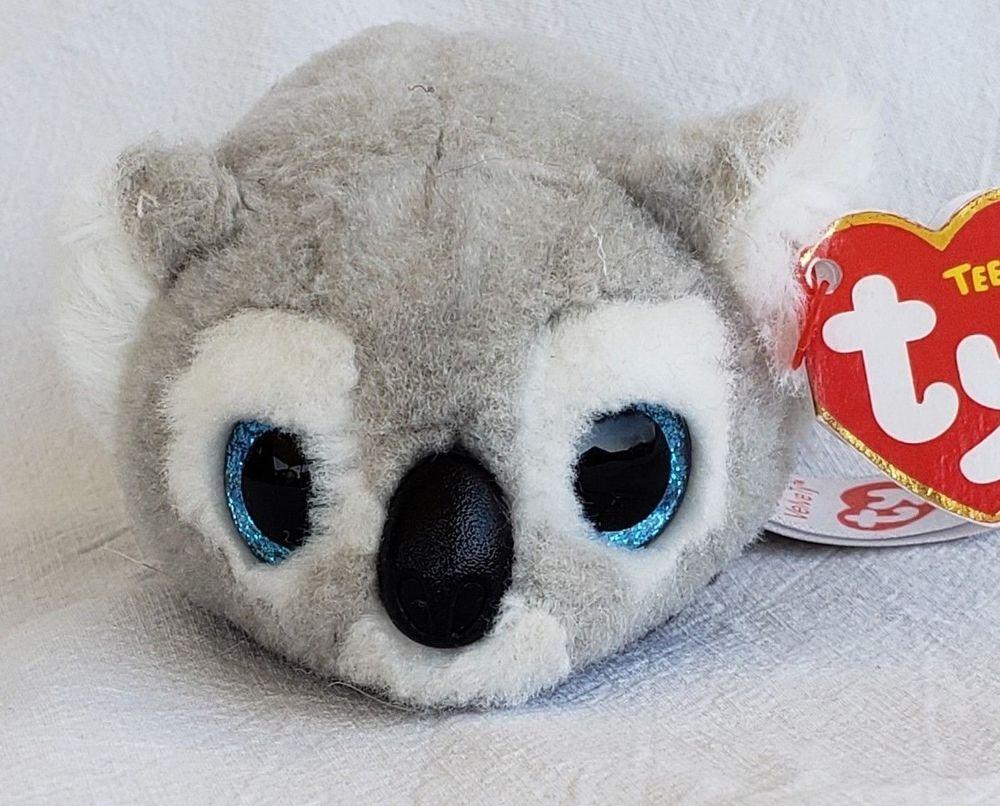 "TY Beanie Babies Teeny Tys Stackable Kaleb Koala 3/"" Plush NEW"