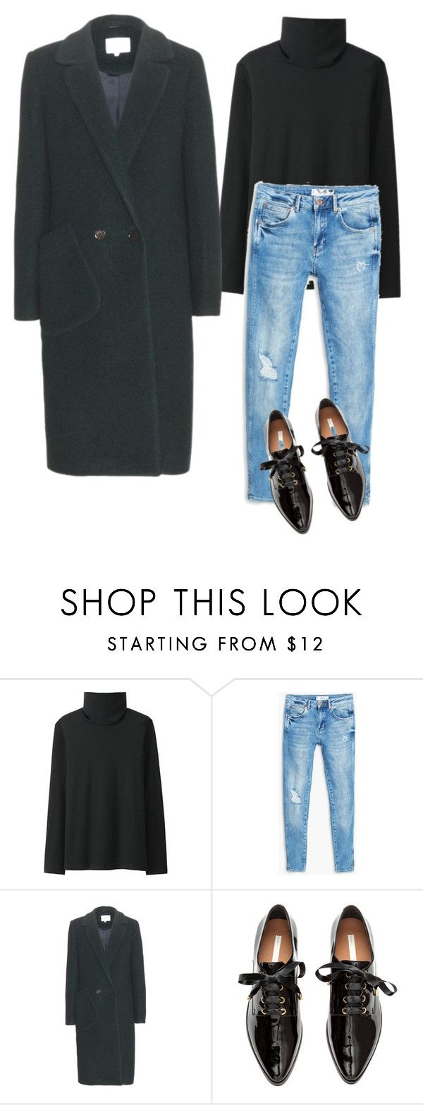 """Untitled #22"" by explorer-14499351471 on Polyvore featuring Uniqlo, MANGO, Carven and H&M"