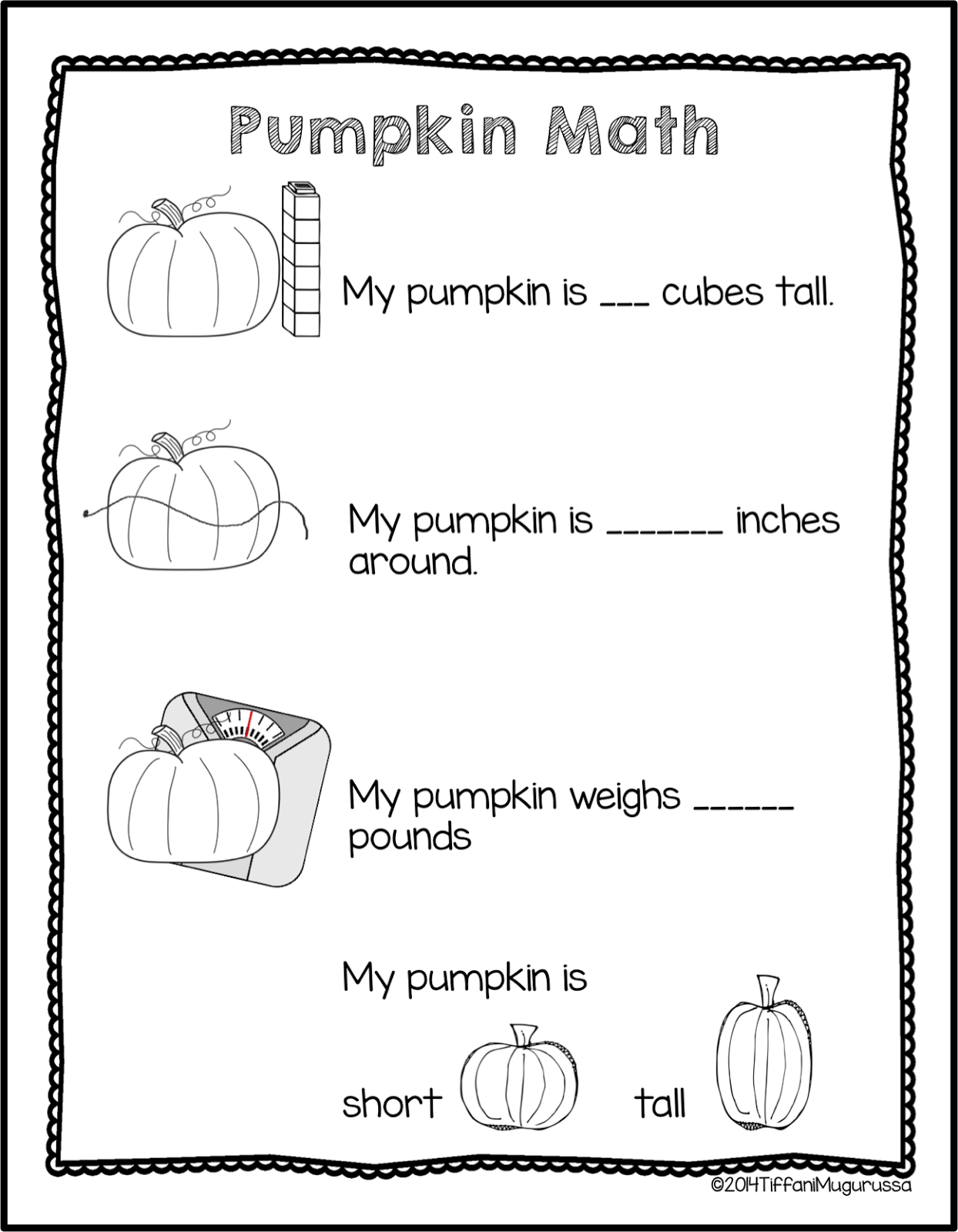 Last Bits Of October Pumpkin Math Activities Pumpkin Lessons Pumpkin Math