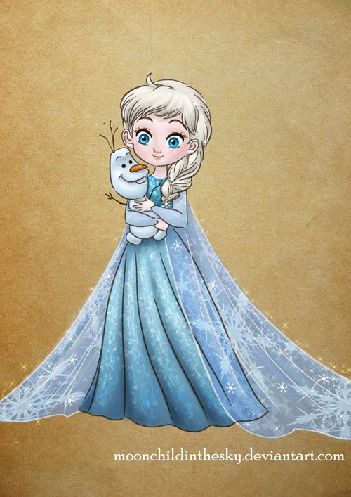 Little Ice Queen By Moonchildinthesky On Deviantart Baby Disney Disney Art Disney Love