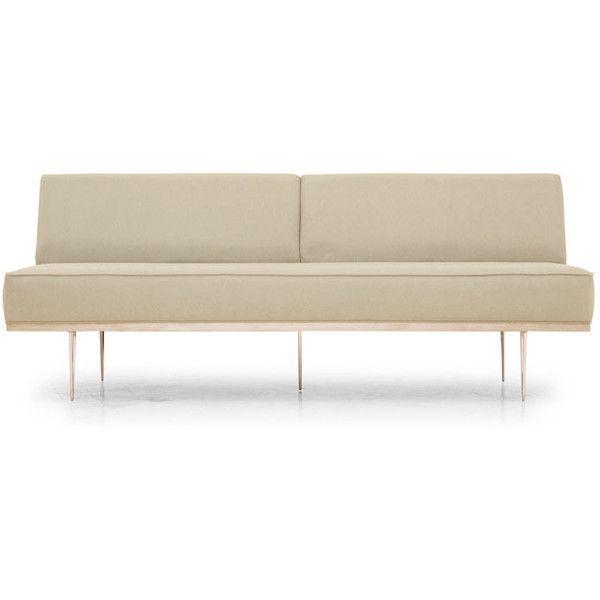 Joybird Furniture Percy Mid Century Modern Brown Loveseat ($1,199