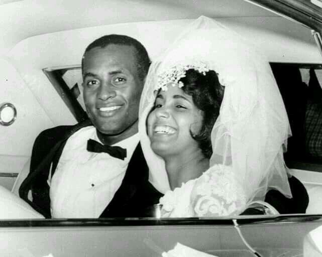 Roberto Clemente wedding 1964