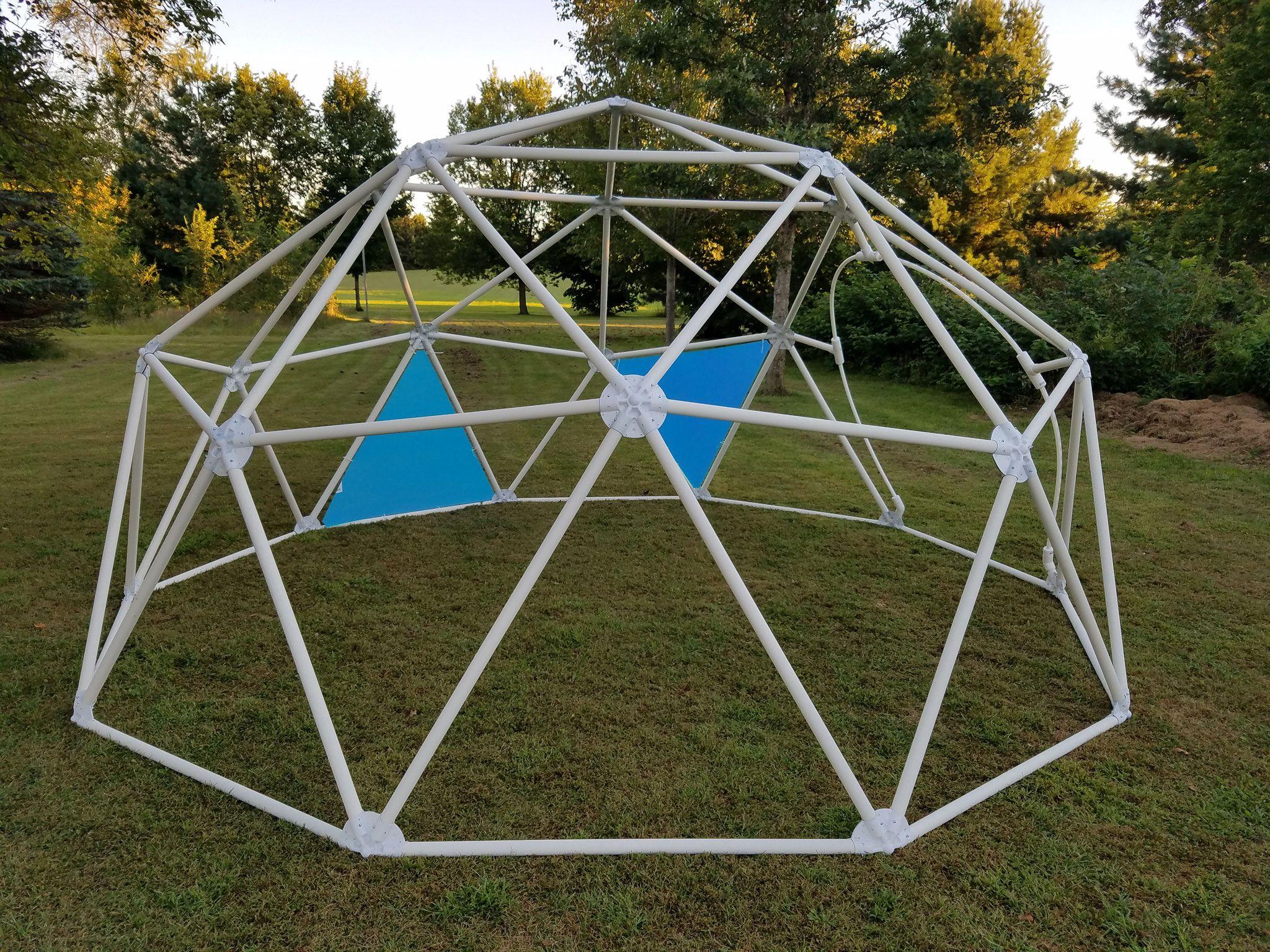 Geodesic Dome Connectors Geodesicdomekits Net In 2019