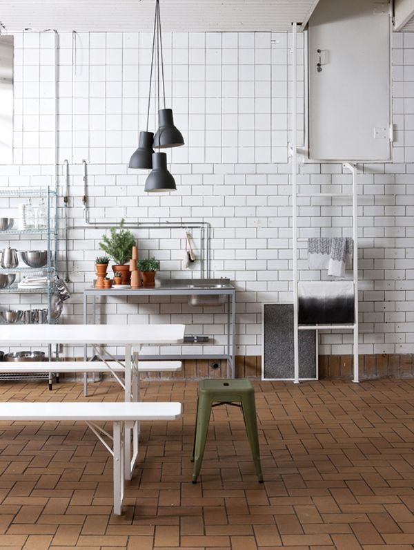 factory-like kitchen