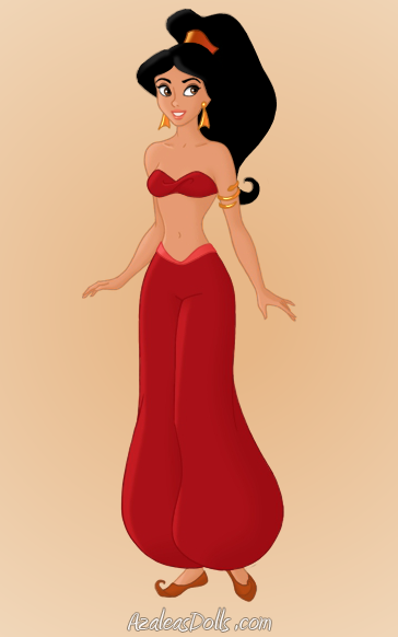 Jasmine S Red Outfit By Greywardennatasha On Deviantart Disney