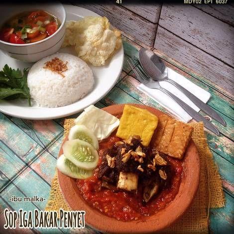 Resep Sop Iga Bakar Penyet Oleh Ibu Malka Resep Resep Makanan Fotografi Makanan Makanan Dan Minuman