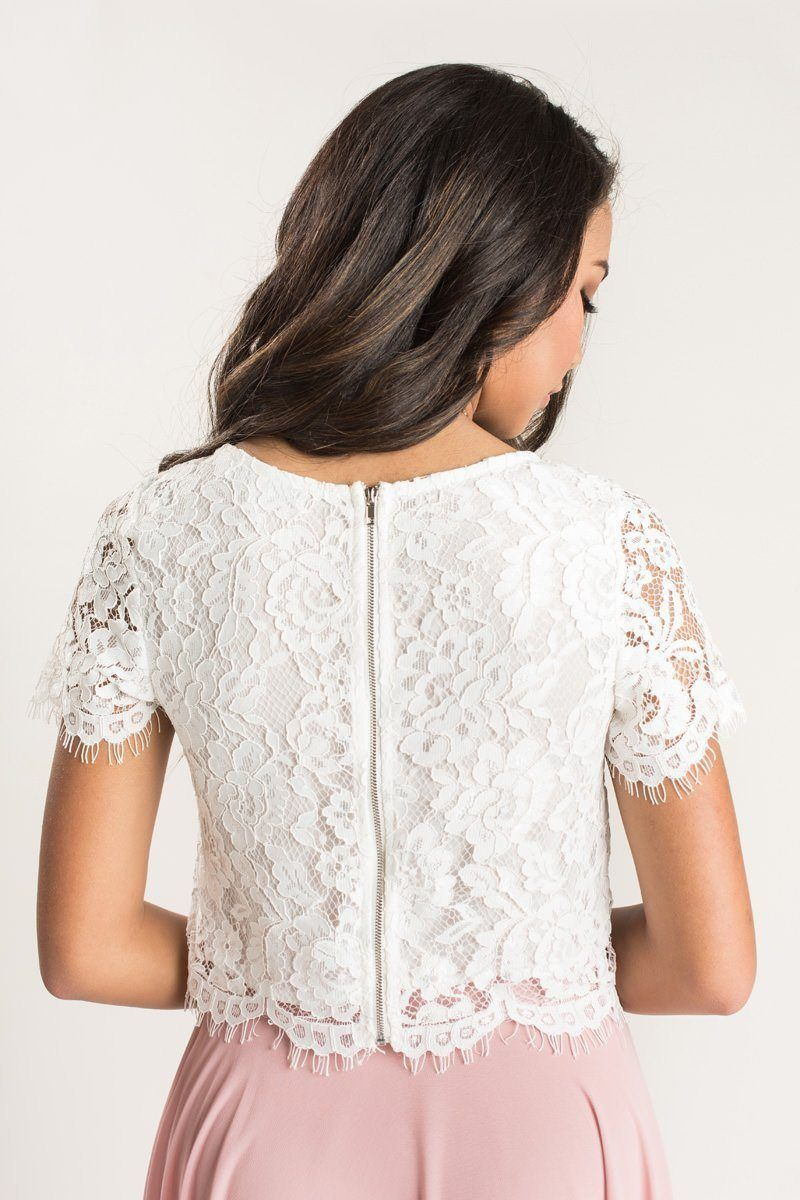 Lace Tops Are Every Morning Lavender Girl S Must Have Piece Whether You Re Pairing This Pretty Top Lace Short Sleeve Top Lace Tops White Lace Short Sleeve Top [ 1200 x 800 Pixel ]