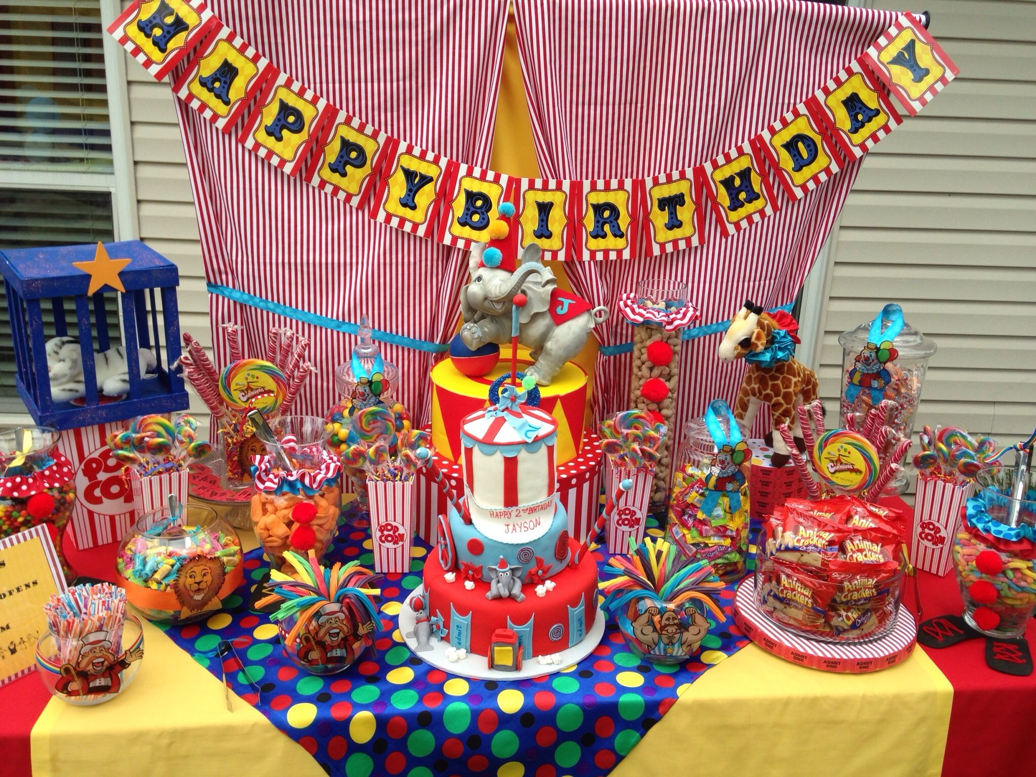 circus candy table candy couture candy buffet tables candy table rh pinterest com