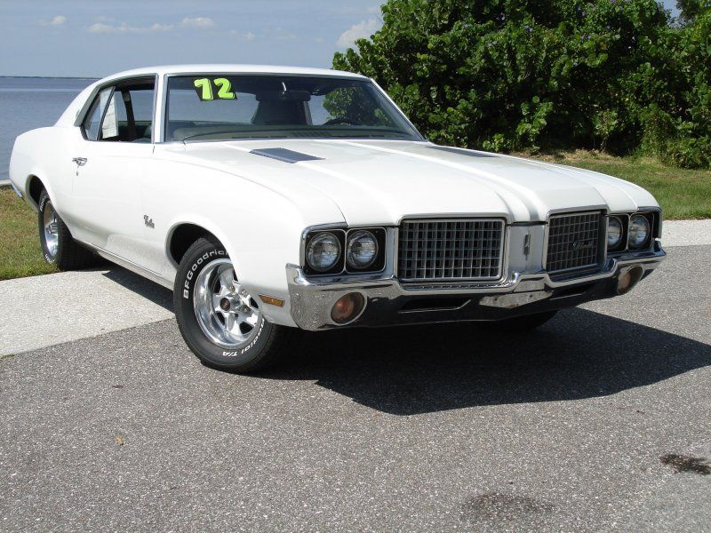 72 Olds Cutlass Supreme The first car I bought when I came out of ...