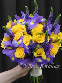 Purple and yellow bouquet wedding ideas for one day pinterest purple and yellow bouquet mightylinksfo