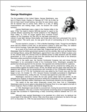 george washington biography good for lapbook or notebook  george washington biography good for lapbook or notebook