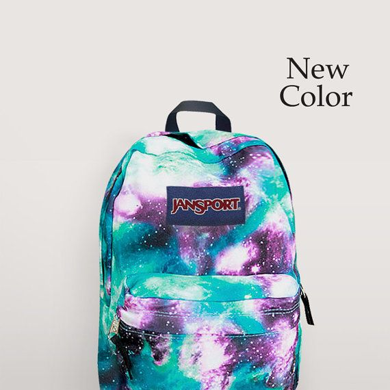 92068fcbccb4 JanSport Galaxy Backpack Airbrush Painted by NosFashionGraphic ...