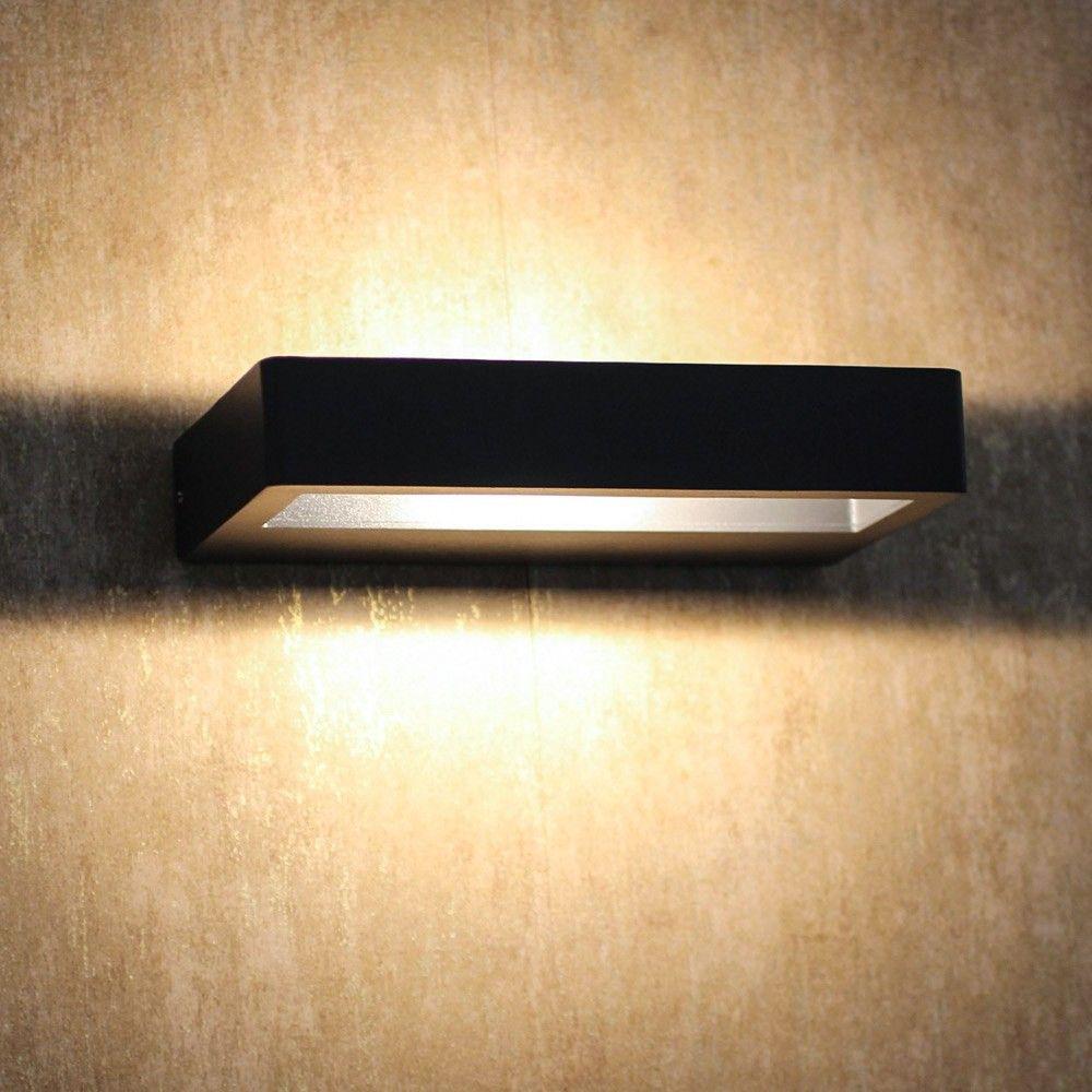 Lichtdesign Skapetze skapetze buna led aussen wandleuchte up 6w anthrazit