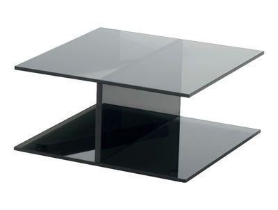 couchtisch glas holz modern, glas italia i-beam couchtisch – glas italia   furniture-mobel tische, Design ideen