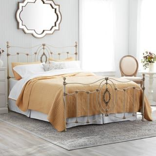 6ea94456b17d Shop for Ashdyn Metal Bed with White Finish
