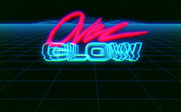 Overglow Vhs Logo Animation On Behance Animation Logos Vhs