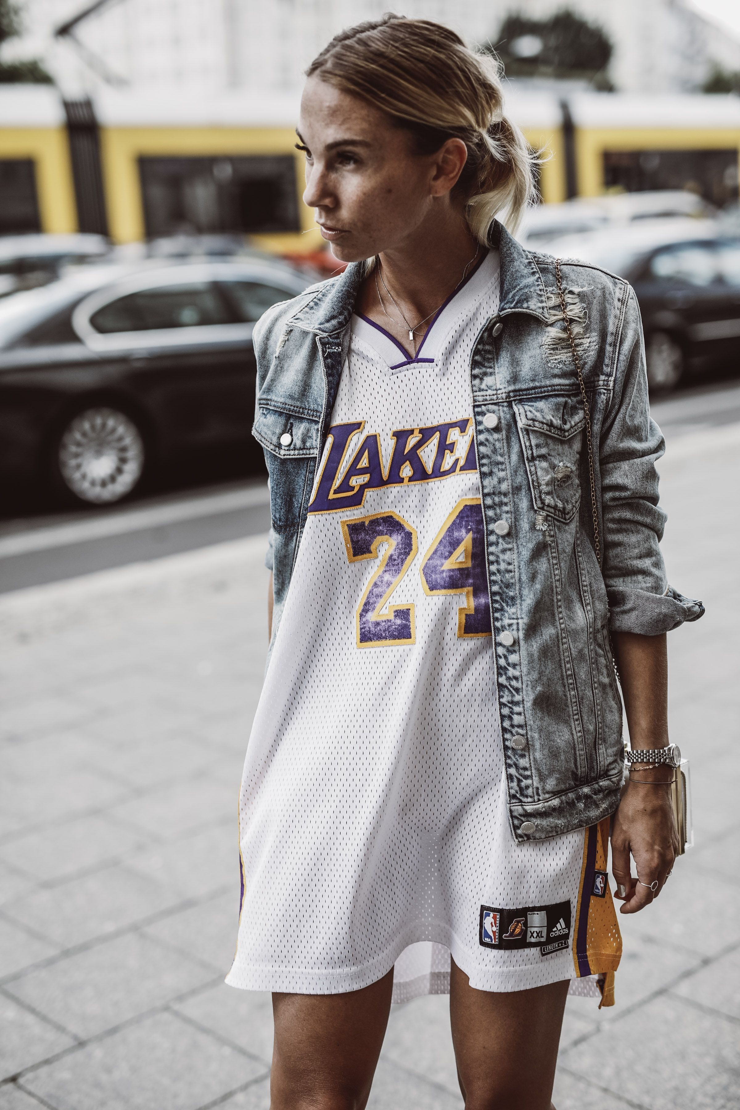 lakers basketball outfit used as dress - casual cool at the ...