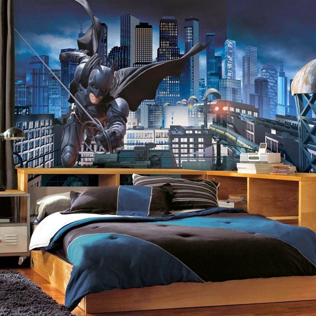 Modern Minimalist Little Boys Batman Bedroom Decorating ...