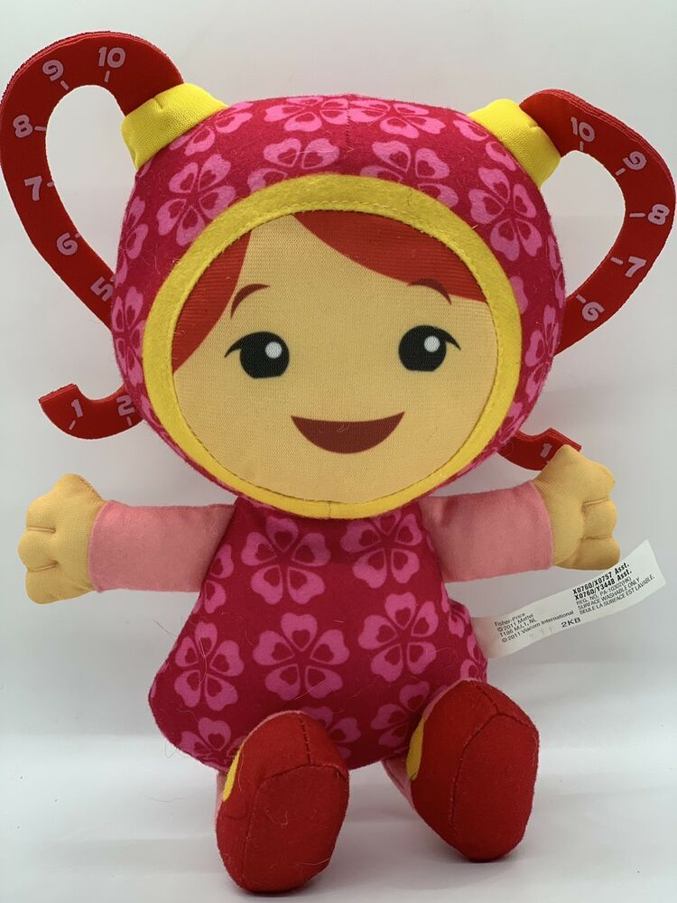 Fisher Price Team Umizoomi Milli Plush 9 Stuffed Doll Toy