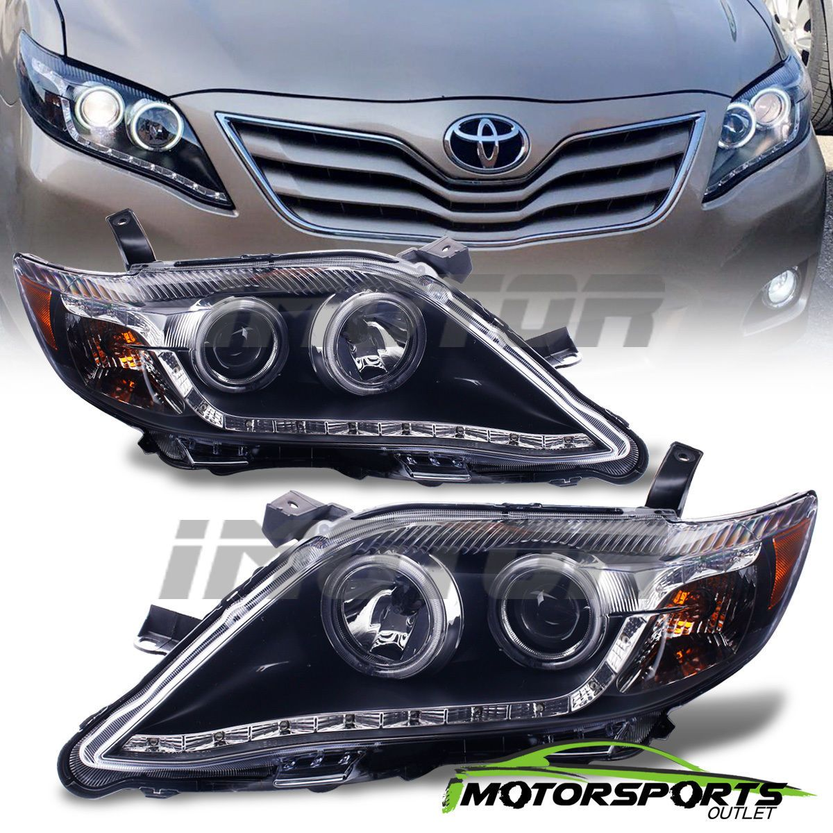 projcetor awesome black camry led toyota headlights pin great style