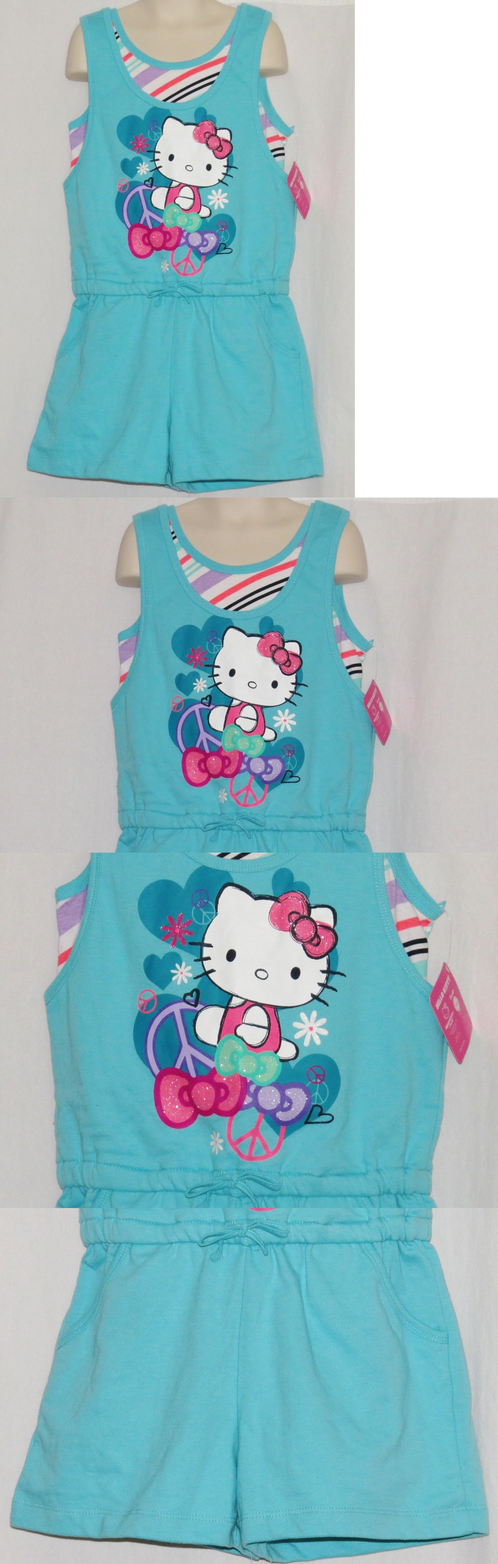 a766805e4 Jumpsuits and Rompers 175528: Hello Kitty Girls 10 One Piece Outfit New Nwt  Jumper Romper Peace Hearts Sanrio -> BUY IT NOW ONLY: $11.49 on #eBay # jumpsuits ...