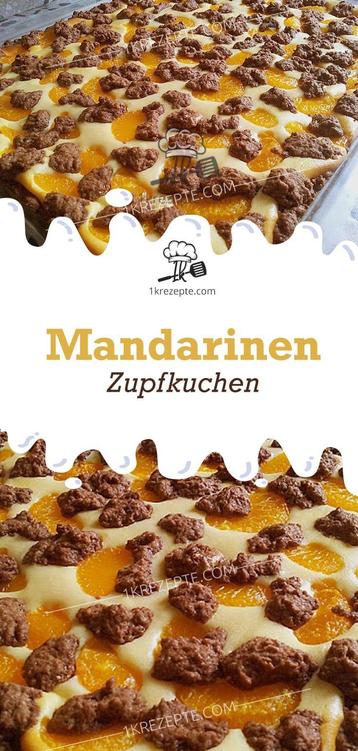 Mandarinen Zupfkuchen #peanutrecipes