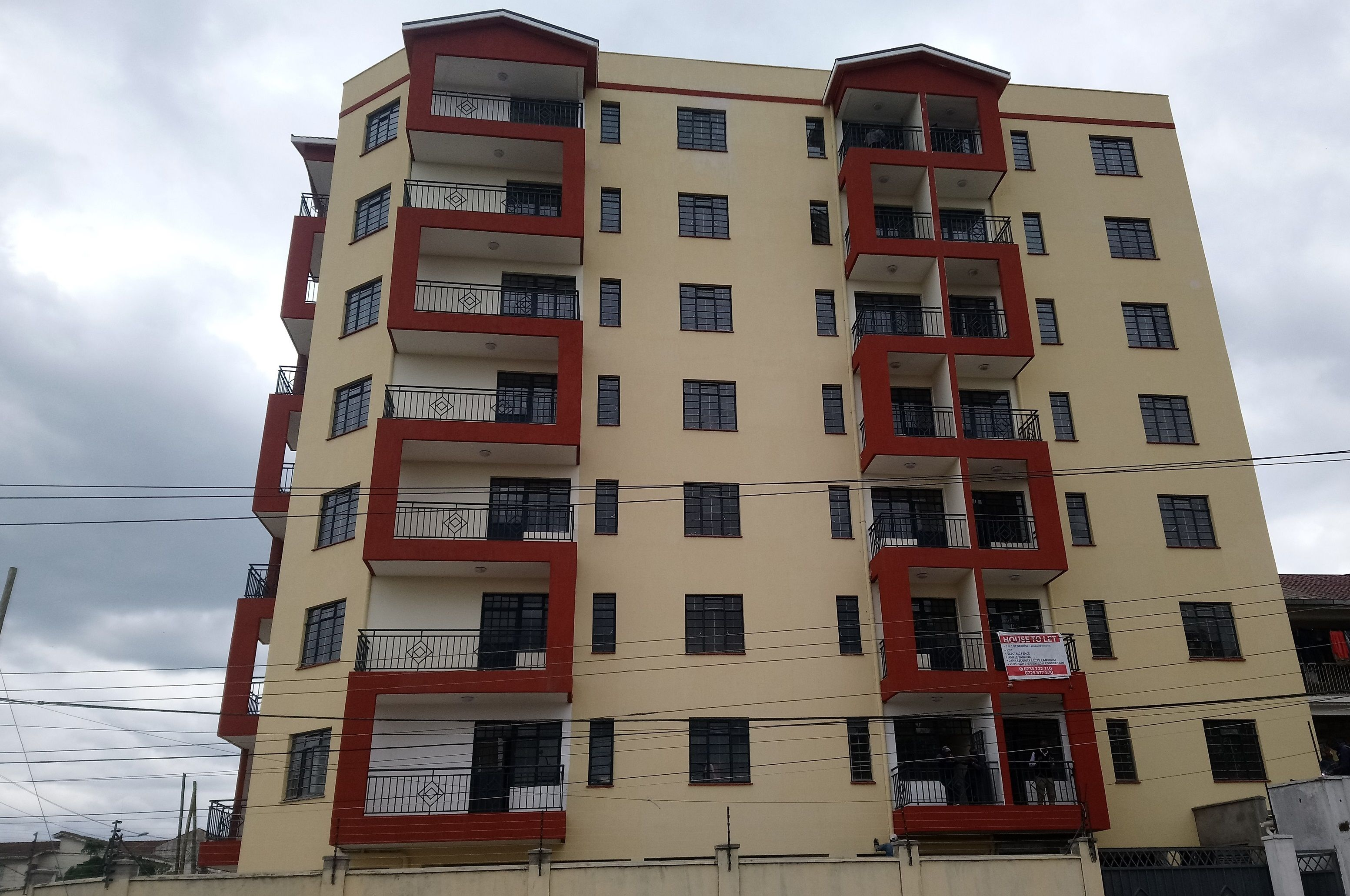 Apartment Complex In Nairobi West Designed By Apartment