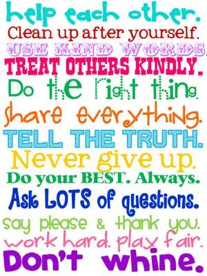 Classroom rules. Sweet Blessings: School Printables