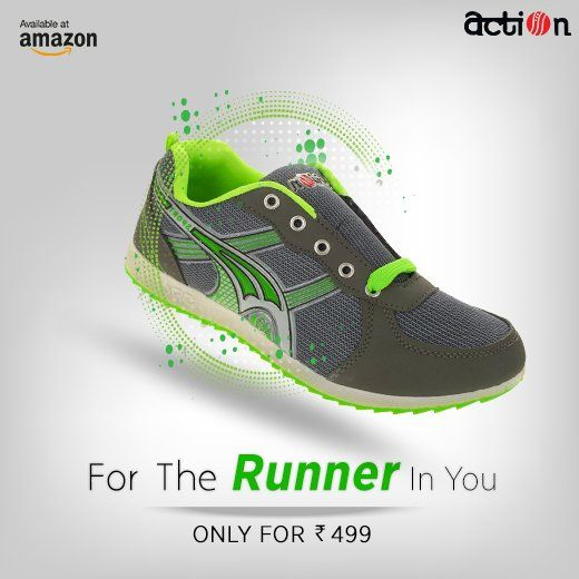 850f4320dd3e91 These #shoes from Action Shoes are built for all levels of activity. Shop  on @amazonIN