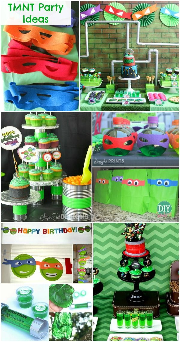 Ninja turtle party ideas tmnt tmnt party ideas ninja for Tmnt decorations