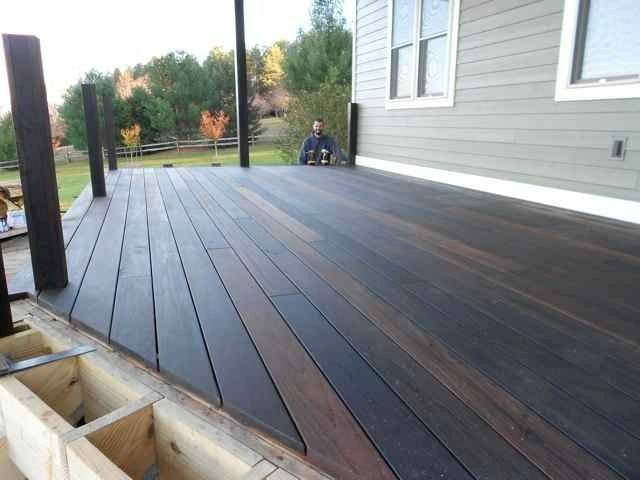 So pretty!! | Thermally modified decking lumber