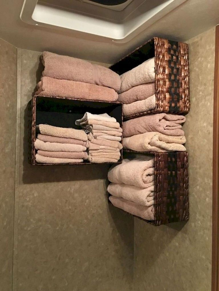 31  Cheap And Lovely Diy Camper Storage Ideas -  Meticulous organization will make a carefree life