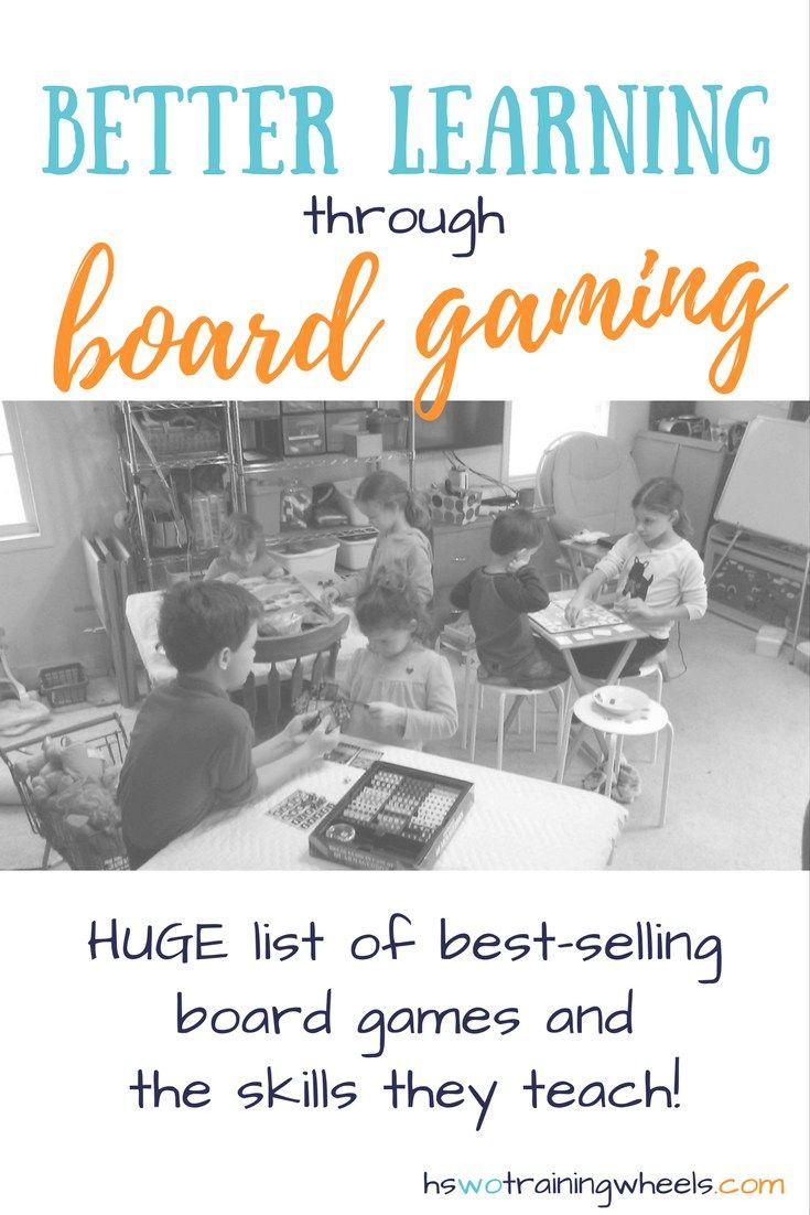 Better Learning Through Board Gaming | hswotrainingwheels.com