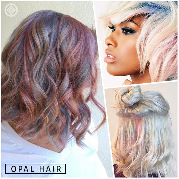 Já ouviu falar do Opal Hair? Os cabelos de pérolas têm mechas que captam os reflexos dessa pedra! Que tal escolher os tons na nossa lojinha para você fazer igual? Vem ver!! #opalhair #ikesakiamei http://goo.gl/oXlpFw