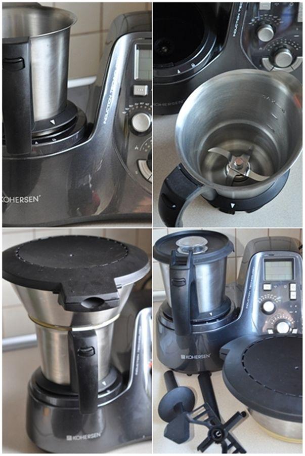 Kohersen Mycook 8211 Wielofunkcyjny Robot Kuchenny Z Technologia Indukcji Kitchen Appliances Coffee Maker Espresso Machine