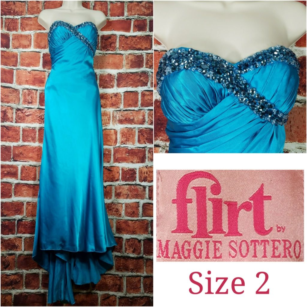 Flirt By Maggie Sottero Formal Wedding Prom Gown | Formal wedding ...